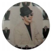 Madness - 'Lee White Jacket' Button Badge